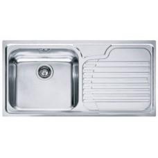 Кухонная мойка FRANKE GALASSIA GAX 611 (101.0017.509) нержавеющая сталь полированная