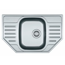 Кухонная мойка FRANKE PXL 612-E (101.0444.134) нерж.сталь декор,со смесителем