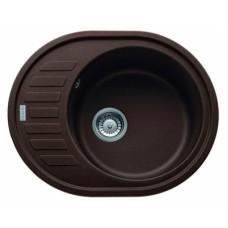 Кухонная мойка FRANKE RONDA ROG 611-62 (114.0381.075/114.0205.513) шоколад