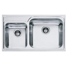 Кухонная мойка FRANKE GALASSIA GAX 620 (101.0017.507) нержавеющая сталь полированная