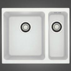 Кухонная мойка FRANKE KUBUS KBG 160 (125.0176.649/125.0158.599) белый