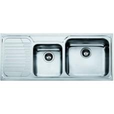 Кухонная мойка FRANKE GALASSIA GAX 621 (101.0017.504) нержавеющая сталь полированная