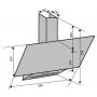 Вытяжка VENTOLUX MIRROR 60 WH (750) PB
