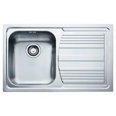 Кухонная мойка FRANKE LOGICA LINE LLX 611-79 (101.0073.535/101.0381.810) декор
