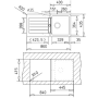 Кухонная мойка TEKA KEA 45 B-TG песочный 40143362/40143351