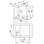 Кухонная мойка TEKA ASTRAL 45 B-TG песочный 40143581