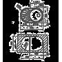 Кухонная мойка TEKA DR 77 1B 1D матовая 40127301