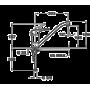 Кухонный смеситель TEKA MB2 L (MS1) хром 40911302