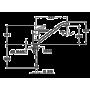 Кухонный смеситель TEKA MF-2 Forum L хром 81911362