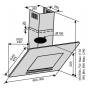 Вытяжка VENTOLUX MIRROR 60 BK (800) TC