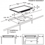Электрическая варочная поверхность ELECTROLUX EHD98740FK