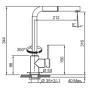 Кухонный смеситель FRANKE SIRIUS (115.0476.760) хром